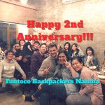 Funtoco Backpackers Namba 祝2周年